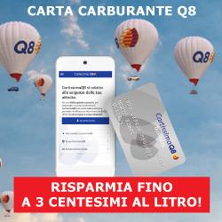 Carta carburante Q8 | Risparmia fino a 3 centesimi al litro!